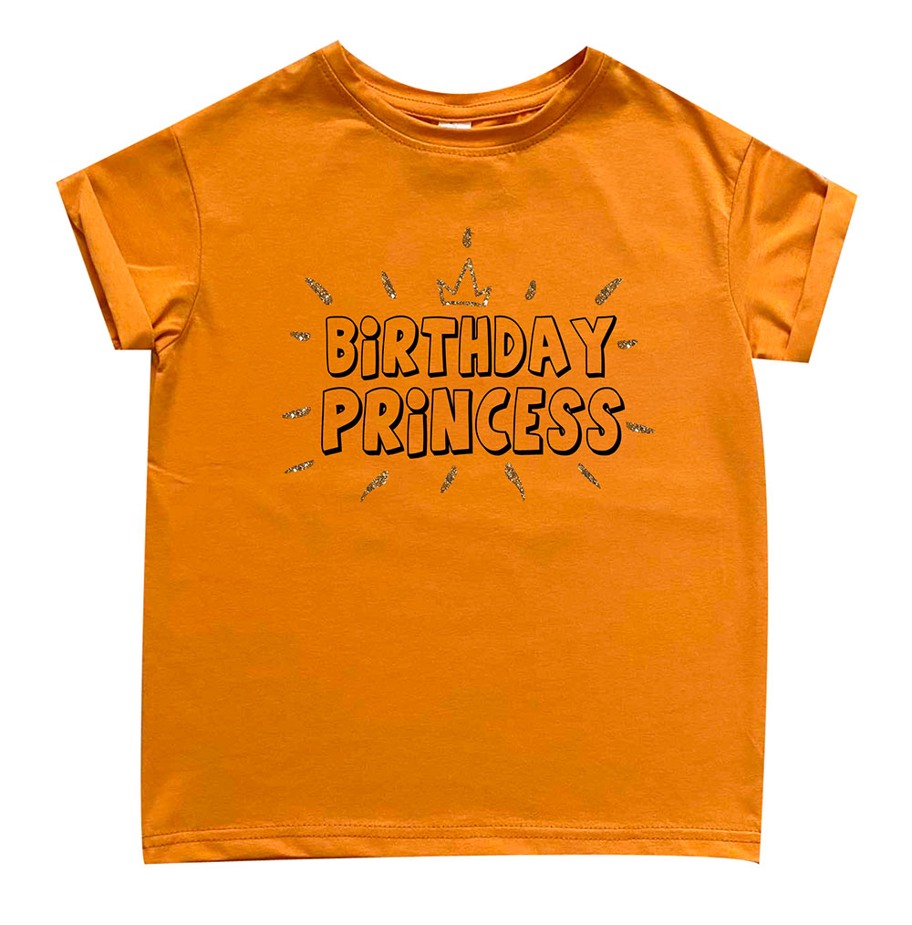 Футболка подросток boyfriend  Birthday princess